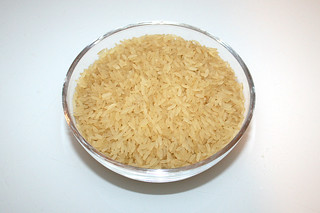 01 - Zutat Langkornreis / Ingredient long grain rice