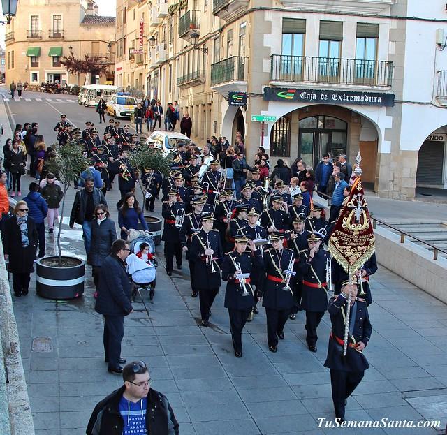 Presentación de la S. Santa de Salamanca en Cáceres