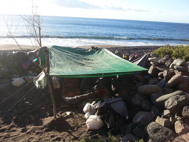 Shelter at Gui Gui