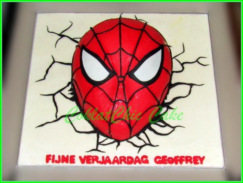 Cake Spiderman FIJNE 15cm
