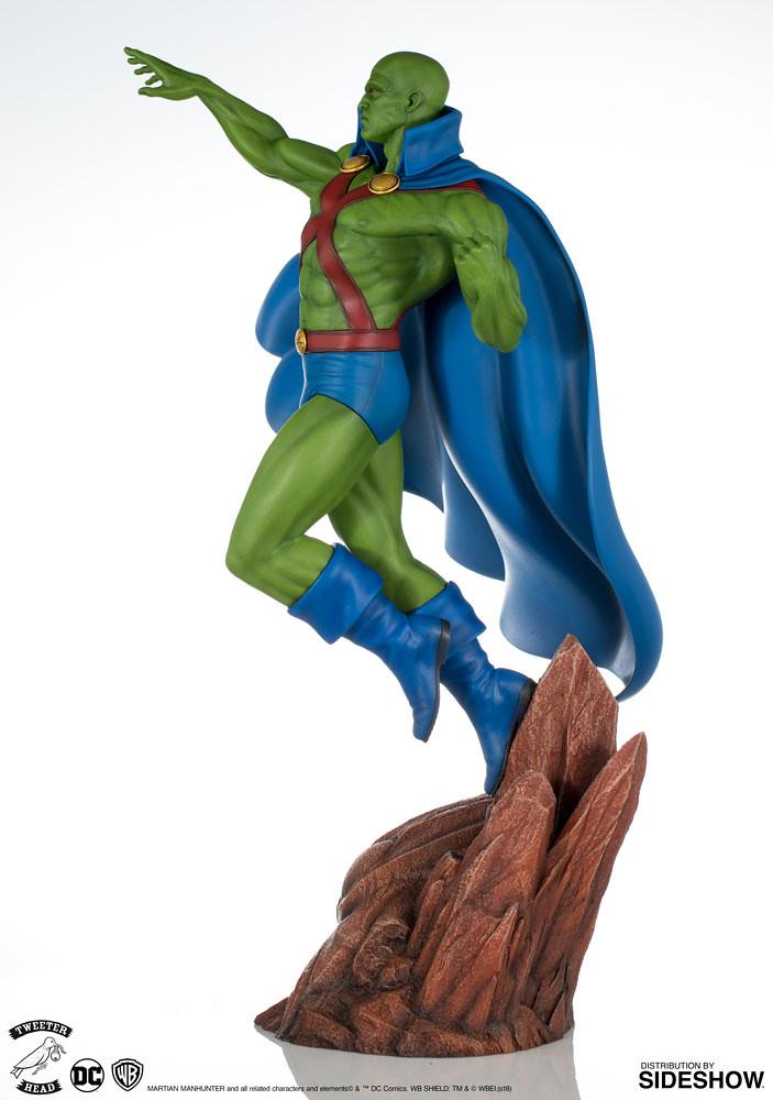 囧叔4ni~?! Tweeterhead Super Powers 系列【火星獵人】Martian Manhunter 1/6 比例全身雕像作品