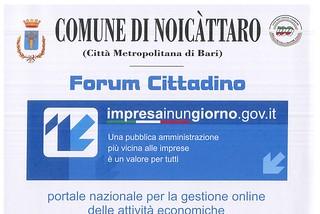 Noicattaro. forum front