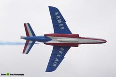 E163 6 F-TERB - E163 - Patrouille de France - French Air Force - Dassault-Dornier Alpha Jet E - RIAT 2010 Fairford - Steven Gray - IMG_9703