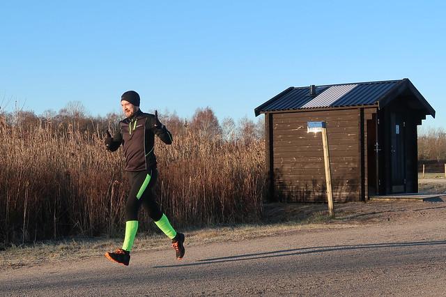 Örebro Parkrun #41 27 januari 2018 i strålande sol