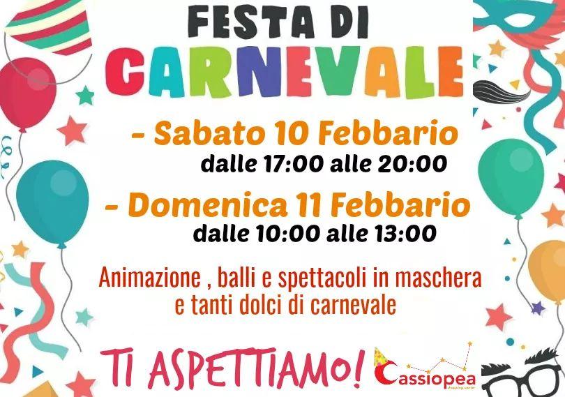 Festa di Carnevale al Centro Cassiopea