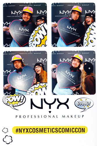 Fun with the NYX photobooth