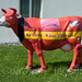 """""""Bruno's Cheese Express"""" Cow Sculpture, Wolhusen, Canton of Lucerne, Switzerland by jag9889"""