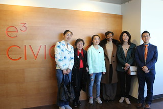 February 20 '18 Visually Impaired Student Xiangjun Wang Visits E3 Civic High School