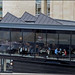 Restaurant Patrons and a Suicidal Man - Edinburgh, Scotland