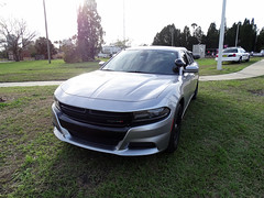 Tampa Bay Hillsborough County Sheriff Unmark Chev Car For Sant' Yago Knight Parade In Historical YBOR City