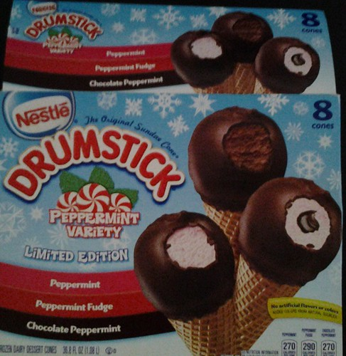 nestle drumstick peppermint variety