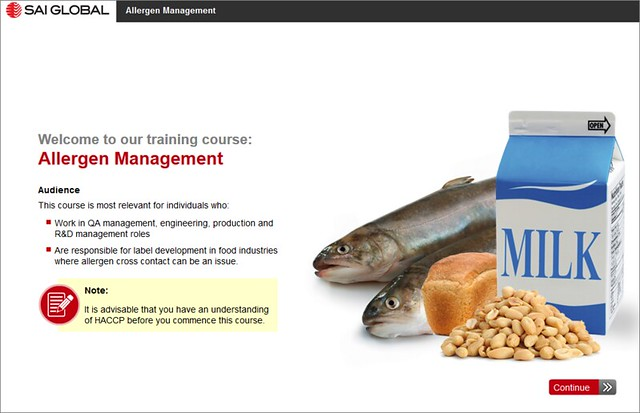 Allergen Management