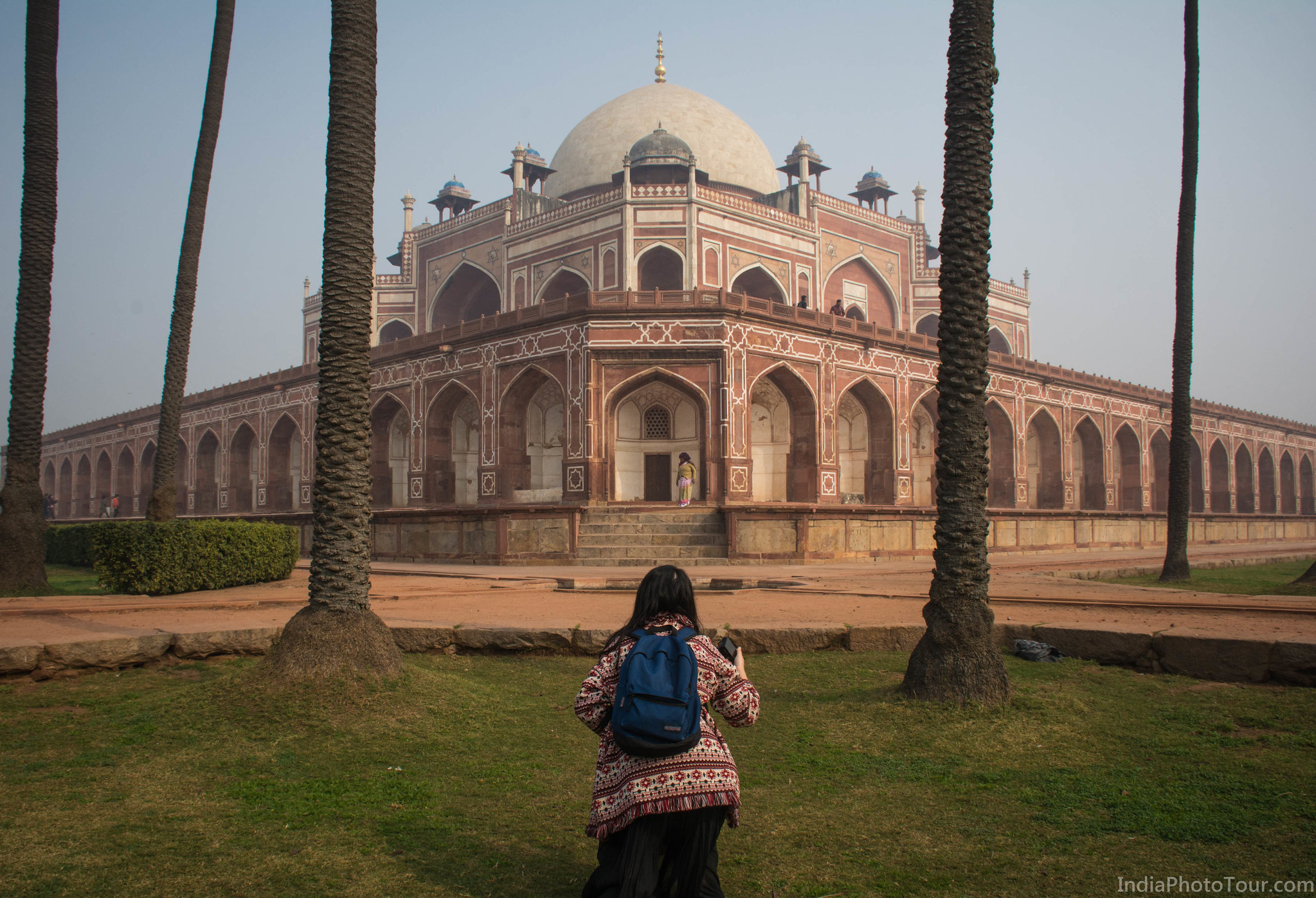 Starting New Delhi part at Humayun's Tomb