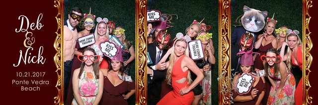 TPC Sawgrass Wedding Photobooth Mirror Me