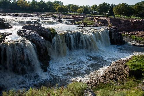 roadtrip unitedstates usa southdakota siouxfalls fallspark bigsiouxriver us