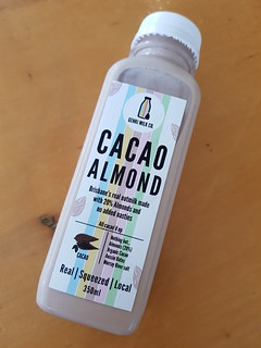 Cocao Almond Mild from Genki Milk Co at Brisbane Vegan Markets