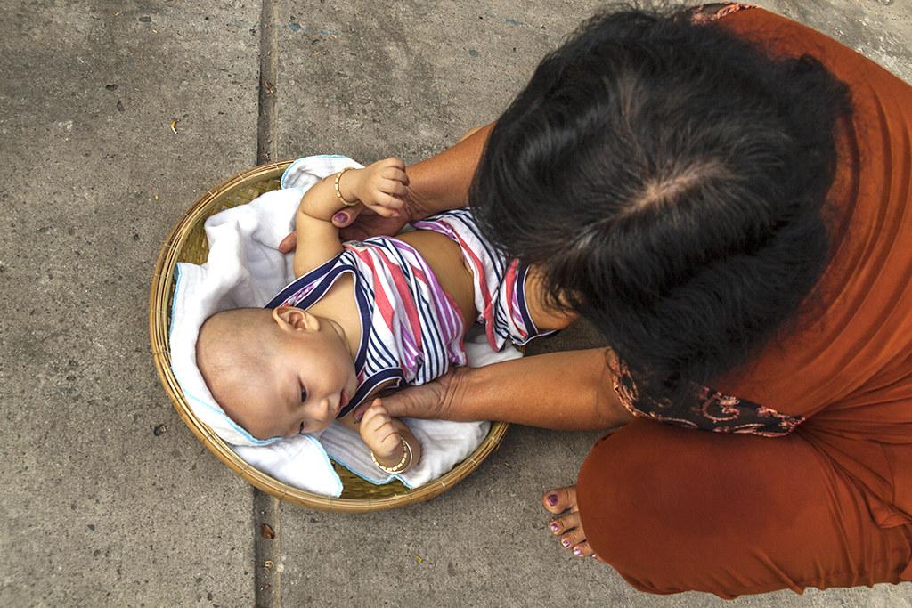 Abandoned baby ritual--Saigon 3