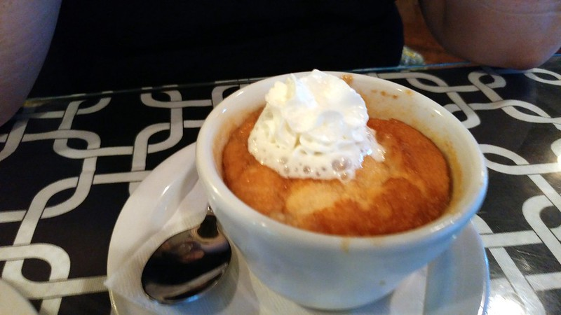 The Peach Cobbler that Katherine had for dessert