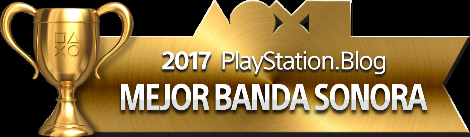 PlayStation Blog Game of the Year 2017 - Best Soundtrack (Gold)
