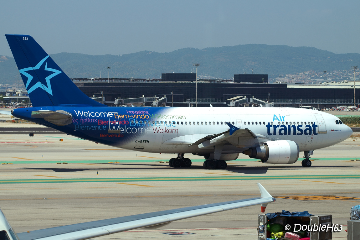 C-GTSH A310 AirTransat BCN