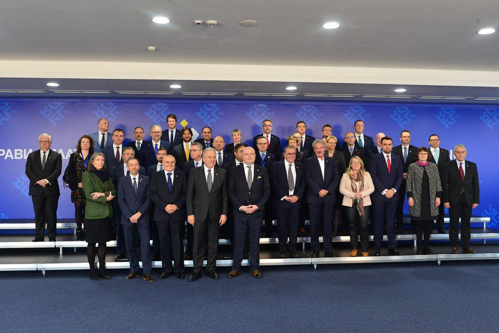 Informal Meeting of JHA Ministers (Home Affairs): Family Photo, Press conference