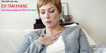 Cảm giác nghẹt thở là dấu hiệu xuất hiện cơn nhồi máu cơ tim