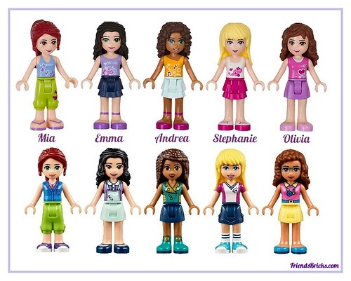 Friends Mini-dolls 2012-to-2017 and 2018-to-?