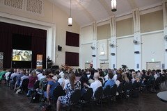 100 solutions to global warming: Paul Hawken on Drawdown at Coburg Town Hall - IMG_3033