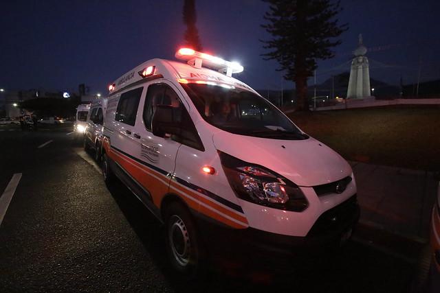 Entrega de 45 ambulancias a hospitales y unidades comunitarias de salud del Ministerio de Salud