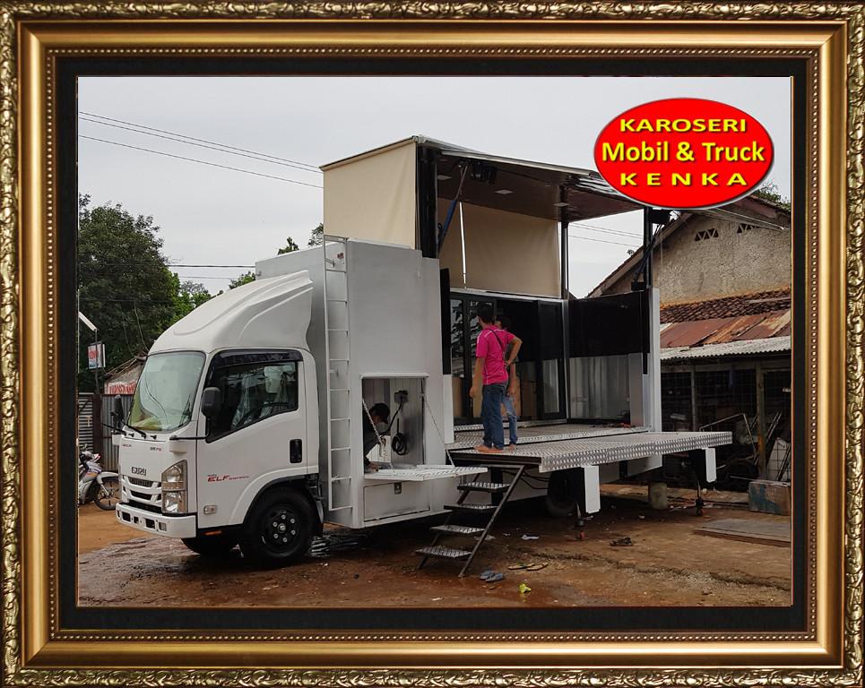 Karoseri Truck Panggung - 1