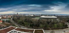 Ein Blick über den Blüherpark