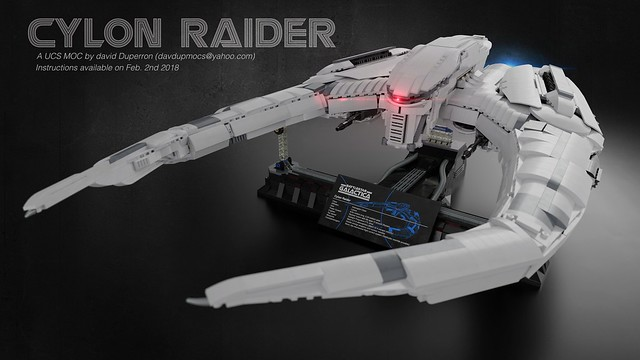 Ucs Cylon Raider Bricknerd Your Place For All Things Lego And
