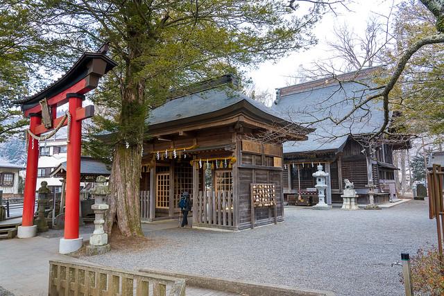 浅間神社より歩行開始