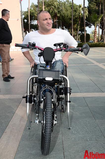 Alanya'da 'Hand Bike' engelleri kaldıracak-7