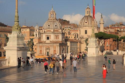 Rome - Santa Maria di Loreto and Santissimo Nome di Maria al Foro Traiano