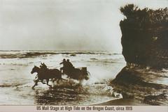 Oregon Mail Stage postcard