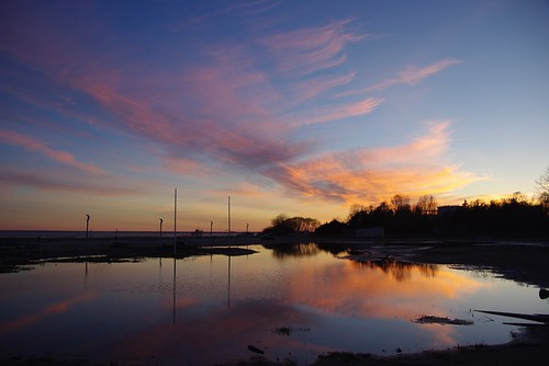 europe campingcar roadtrip trip europa estonie eesti estonia parnu soleil nuage coucherdesoleil voyage