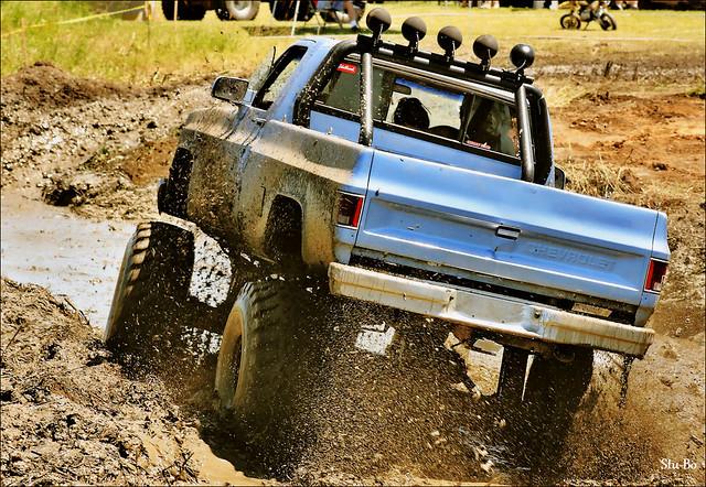 mud bath...