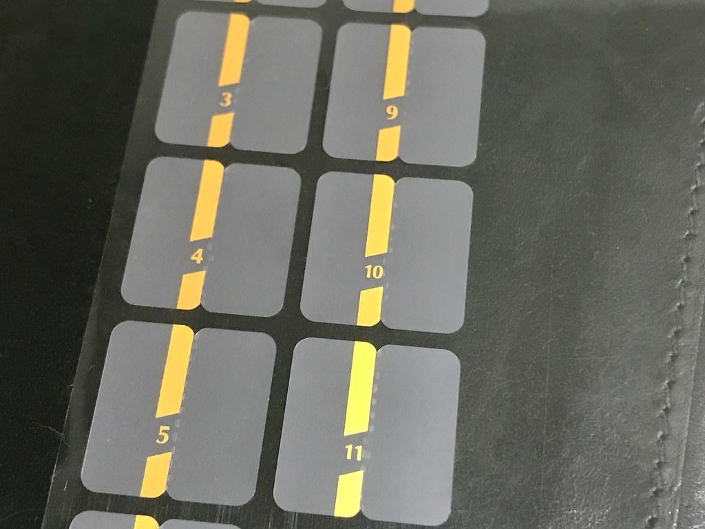 チラットインデックス 色付き部分