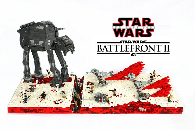 LEGO Star Wars Battlefront 2 Battle Of Crait from The Last Jedi~