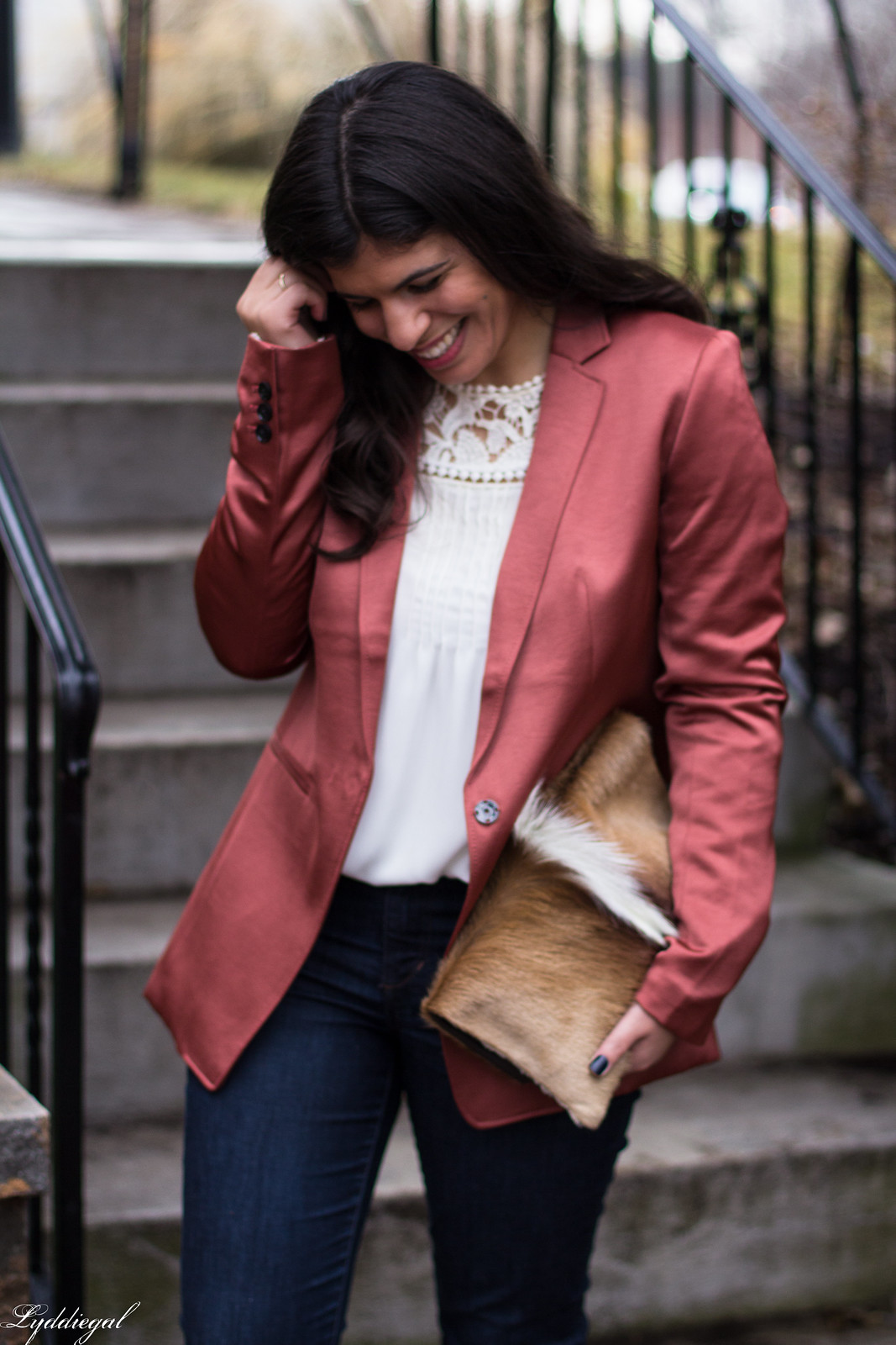 rust silk boyfriend blazer, springbok clutch, lace blouse-17.jpg