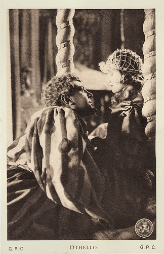Emil Jannings and Ica von Lenkeffy in Othello (1922)