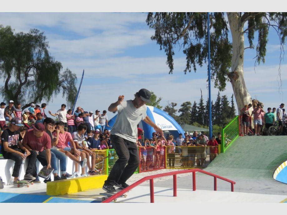 Skateboard: Pista Cuyana