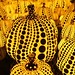 "Tired of the grey sky? Step into the light in ""Yayoi Kusama: All the Eternal Love I Have for the Pumpkins."" #KusamaPumpkins Tickets: http://bit.ly/2xoTDg8"
