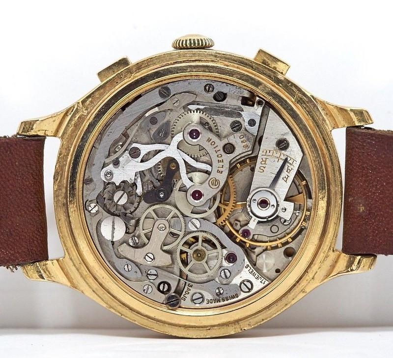collection - Un autre chrono vintage arrive dans ma collection , l'Election oversize  40555983121_4e0014d09a_c