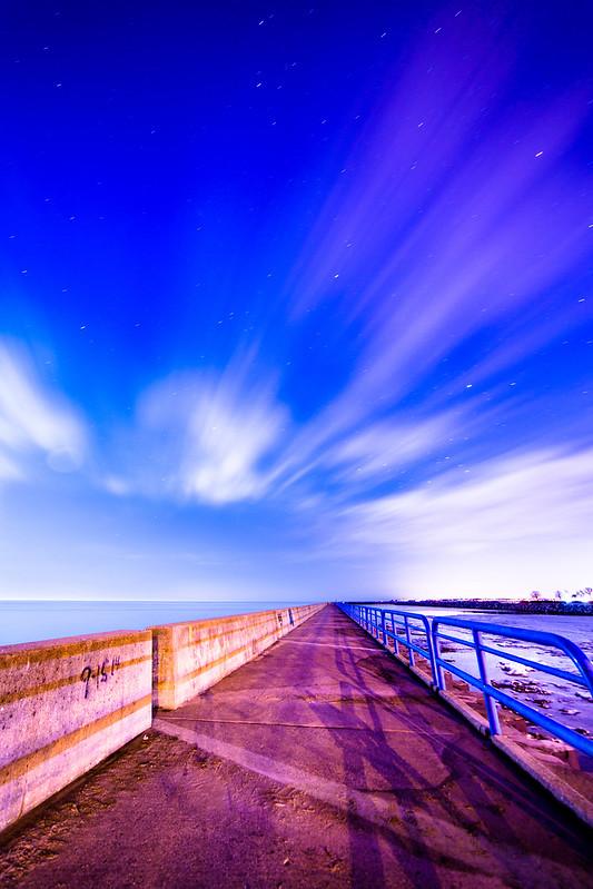 short walk down a long pier