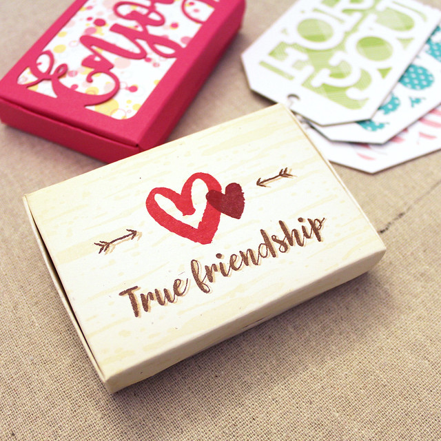 Lizzie Jones True Friendship Jewelry Box
