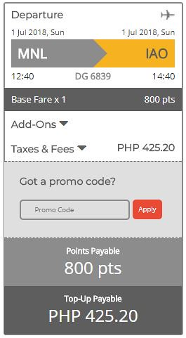 Manila to Siargao June 29, 2018 Cebu Pacific Air GetGo Promo Final