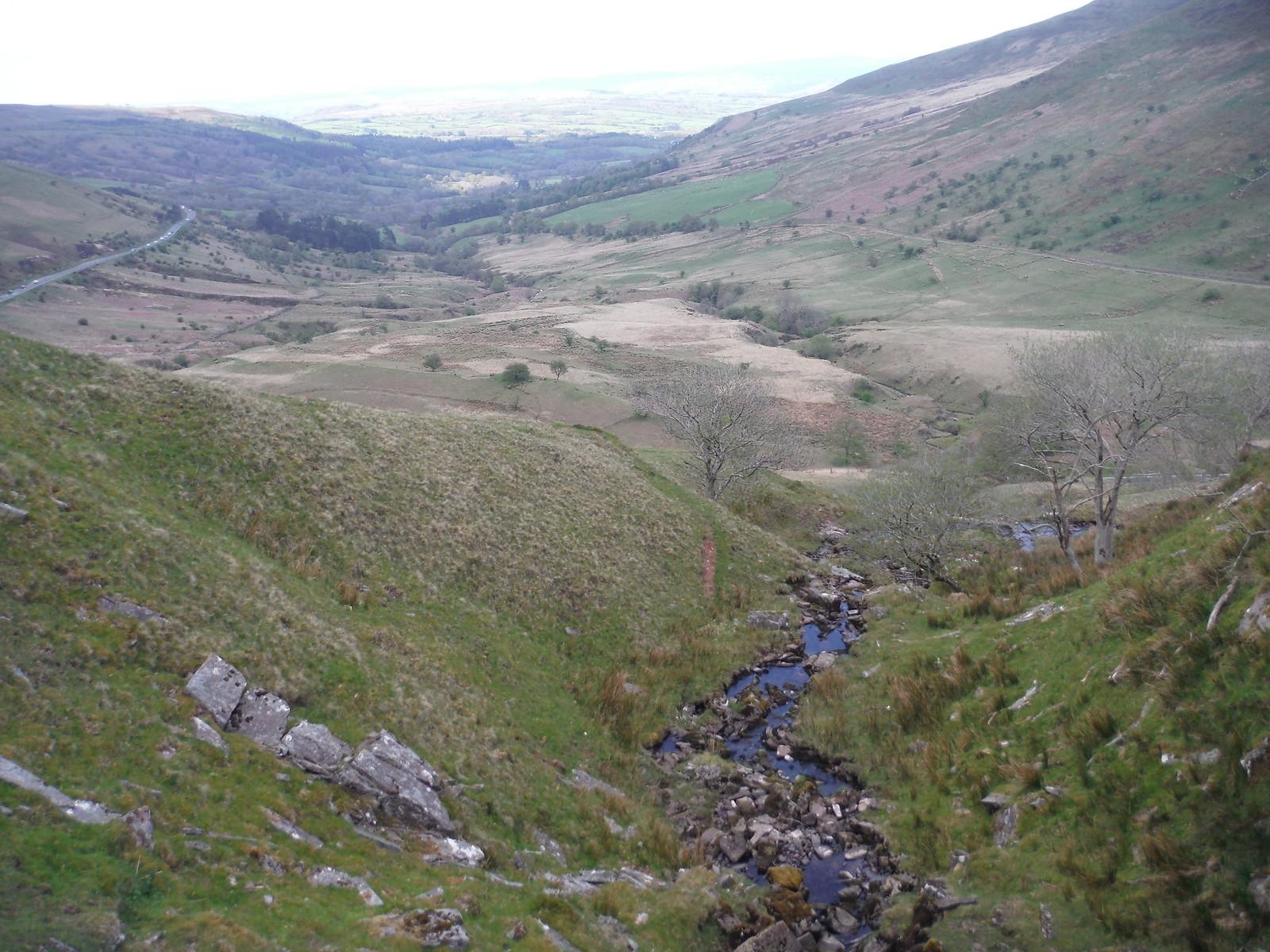 Glyn Tarell, from Craig y Fro SWC Walk 307 - Fforest Fawr Traverse (Craig y Nos to Llwyn-y-celyn) [Storey Arms Ending]