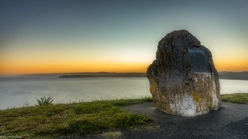 Sunset on Kaiti Hill